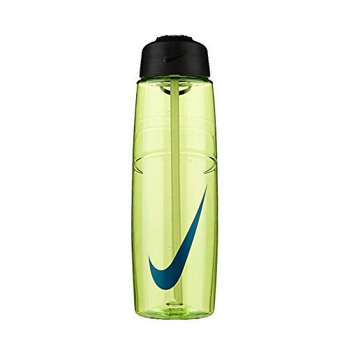 Nike T1 Flow Swoosh Water Bottle (Volt / Concord) (Nike Flow Water Bottle compare prices)