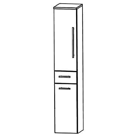 Puris Speed (HNA053AWL / R Tall Cupboard Bathroom Cupboard 30 CM