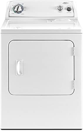 Whirlpool WGD4800XQ 7 Cu. Ft. White Gas Front Load Dryer