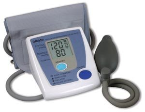 Cheap Omron Manual Inflation Blood Pressure Monitor with Large Cuff HEM-422CRLC (HEM-422CRLCN)