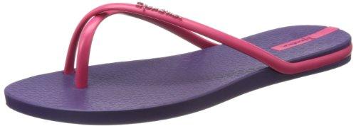 Ipanema Women'S Fit Flip Flop,Purple/Pink,8 M Us front-417499