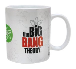 Big Bang Theory - Mug Logo