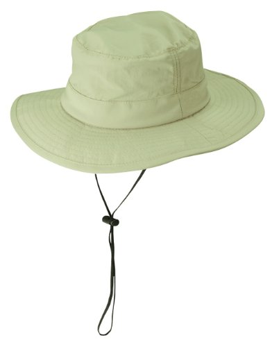 Dorfman Pacific Men's Big Brim Bonnie Hat, Light Olive Khaki, X-Large