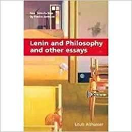 Lenin and Philosophy and Other Essays - Wikipedia, the free