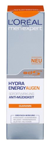 L'Oréal Paris Men Expert Hydra Energy Augen Creme, 15ml