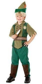 Peter Pan Rubies-Costume da Biancaneve Disney World Book settimana, 5-6 anni