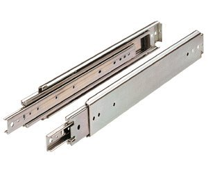 Drawer Slide, Full Extension, 36 in., Heavy Duty, 500 lb. Capacity, Zinc picture