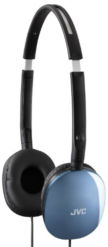 Jvc Has160 Flat Stereo Headphones Blue