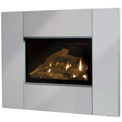 mantis fireplace mantel surround kit stainless steel