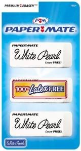 paper-mate-white-pearl-erasers-premium-3ct-pack-of-6