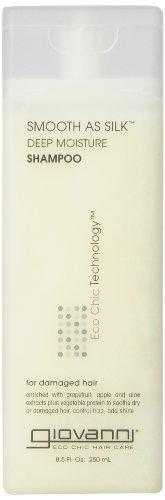 Giovanni Smooth as Silk Shampoo, Packaging May Vary, 8.5-Oun