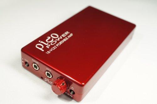 Headamp Pico Power Portable Headphone Amp Red