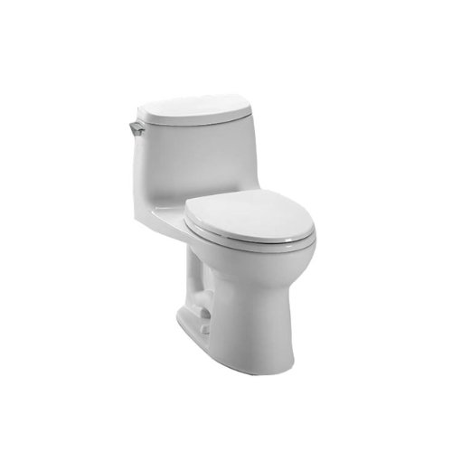 Toto-MS604114CUFG01-UltraMax-II-1G-one-Piece-Elongated-Toilet-with-Sana-Gloss-WhiteWhite