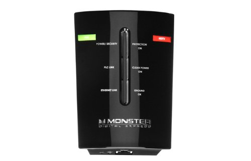 Monster PowerNet 200 Powerline Network Adapter Starter Kit