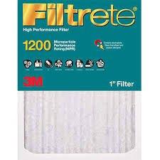 6-PACK, Filtrete 3M Allergen Reduction 20x25x1 1200 MPR Furnace Filter