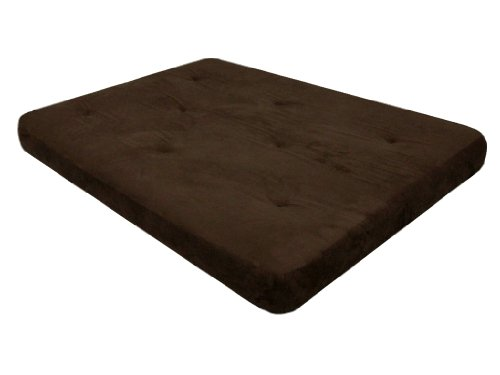 Signature Sleep 6 Inch Futon Mattress, Chocolate Brown