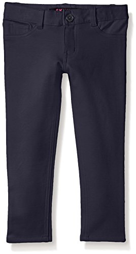 French Toast Girls' Big Girls' Skinny 5 Pocket Knit Pant, Navy, 10 (Ponte Knit Skinny Pants compare prices)