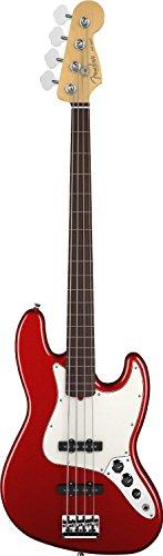 Fender American Standard Jazz Bass Fretless, Rosewood Fingerboard, Mystic Red