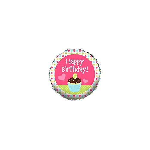 Creative Converting BB018773 Cupcake Birthday Balloon