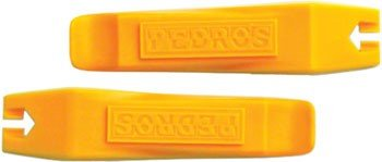 Pedro's Tire Lever - 2 Pack Yellow, One Size