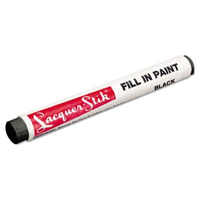 Lacquer-Stik Fill-In Paint Marker, Black, Sold as 1 Each (Fill In Paint compare prices)