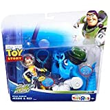 Disney / Pixar Toy Story Exclusive To Infinity And Beyond Space Mission Action Figure 2Pack Jessie Rex