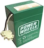 POWER WHEELS BY FISHER PRICE 6 VOLT GREEN BATTERY