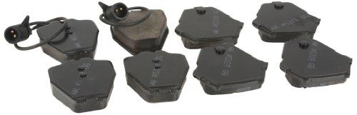 Akebono Brake Pad Set EURO Ceramic - With Shims