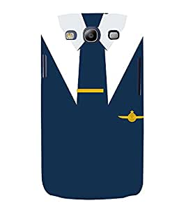 Air force Naval Officer Dress 3D Hard Polycarbonate Designer Back Case Cover for Samsung Galaxy S3 Neo :: Samsung Galaxy S3 Neo i9300i