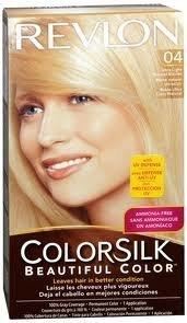 Revlon Colorsilk Beautiful Haircolor, Ammonia-free, Permanent Haircolor (Pack of 4) (#04 Ultra Light Natural Blonde) by Revlon