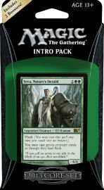 Magic the Gathering M13: MTG: 2013 Core Set Intro Pack: Wild Rush Theme Deck (Includes 2 Booster Packs)