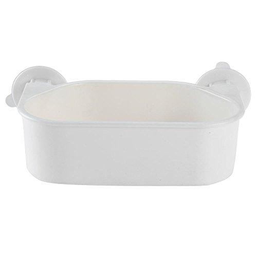 crazo-cesta-ventosa-organizador-almacenaje-6kg-ducha-blanco-para-bano-banera