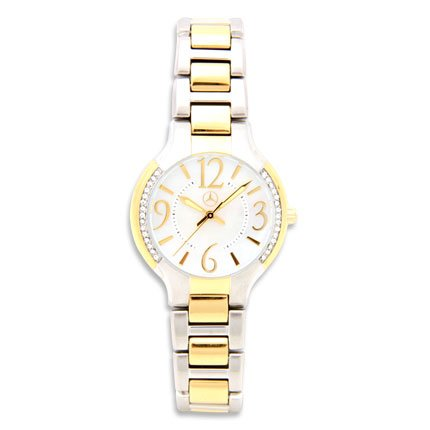 Mercedes Benz Ladies Two Tone Bracelet Watch Sale Best Buy