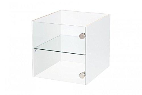 Vitrineneinsatz-mit-Glastr-fr-Ikea-Regal-Expedit-wei-mit-Glasboden