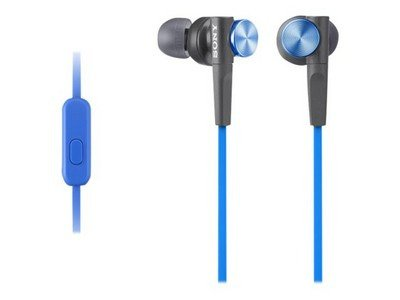 Sony Mdrxb50Ap/L Mdr Xb50Ap - Headphones With Mic - In-Ear - Blue