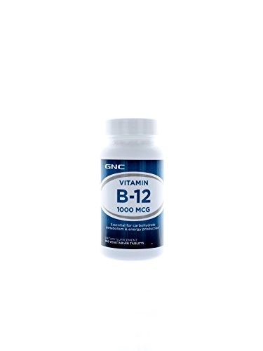 Gnc Vitamin B-12 1000, Vegetarian Tablets, 100 Ea