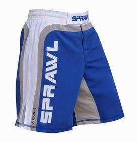 Sprawl mma Fusion Blue Fight Shorts - 32