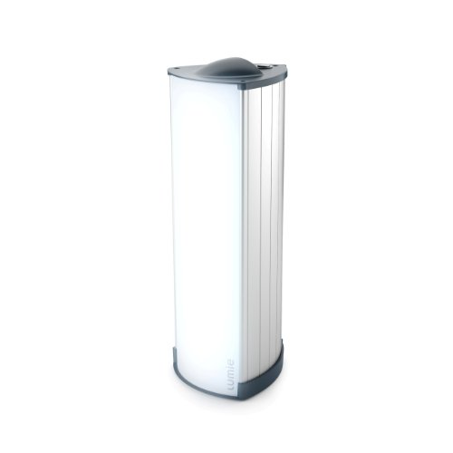Lumie Brightspark Lightbox Stylish Aluminium SAD Light Therapy Lamp