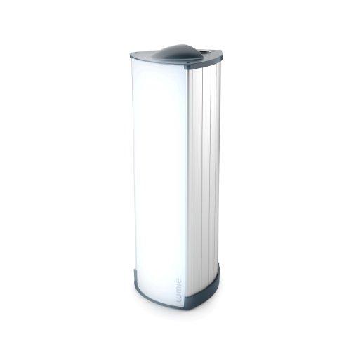 Lumie Brightspark Lightbox Stylish Aluminium SAD Light Therapy Lamp