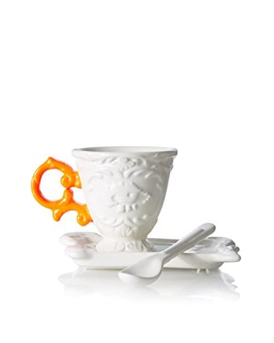 Seletti I-Ware Espresso Set, Orange