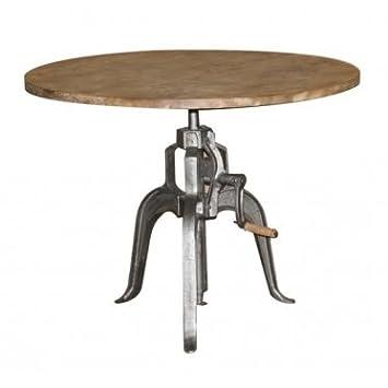 Height Adjustable Crank Table