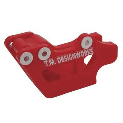 T.M. Designworks Factory Edition 1 Rear Chain Guide Red Honda Cr125R Cr250R Crf250R Crf250X Crf450R Crf450X