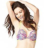 Limited Collection Flirt Plunge Push-Up A-DD Bikini Top