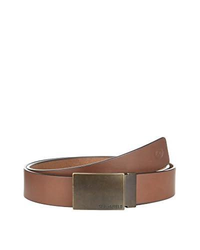 Springfield Cintura Pelle [Marrone Scuro]