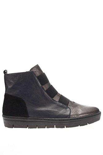 A 5506.Sneaker alta.Nero.38