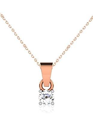 Friendly Diamonds Conjunto de cadena y colgante FDP6255R Oro Rosa