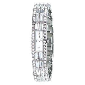 DKNY Women's Slim Crystal Bangle Watch NY3715