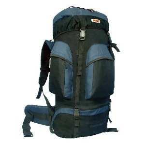 Cuscus 6200Ci Internal Frame Backpack Hiking Camp Travel Bag Navy front-188117
