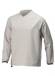 Ashworth V Neck Golf Windshirt with Trim by Ashworth
