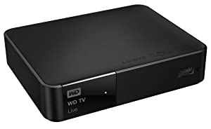 WD TV Live  - Media Player Wi-Fi USB HDMI Full-HD 1080p AVI Xvid MKV MOV FLV MP4 MPEG
